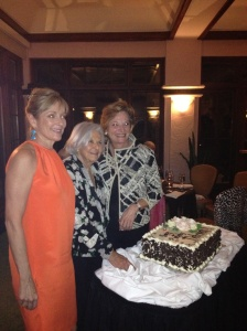 Susie Ellis, Deborah Szekely  and Nicki Bryan